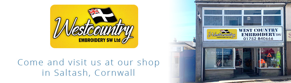 West Country Embroidery SW Limited Saltash Shop